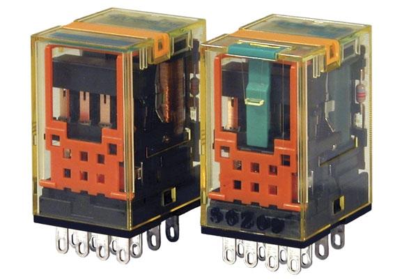 4pólové relé RY4S-U, DC12
