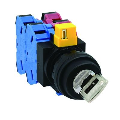 2polohový přepínač s klíčem HW1K-2A22