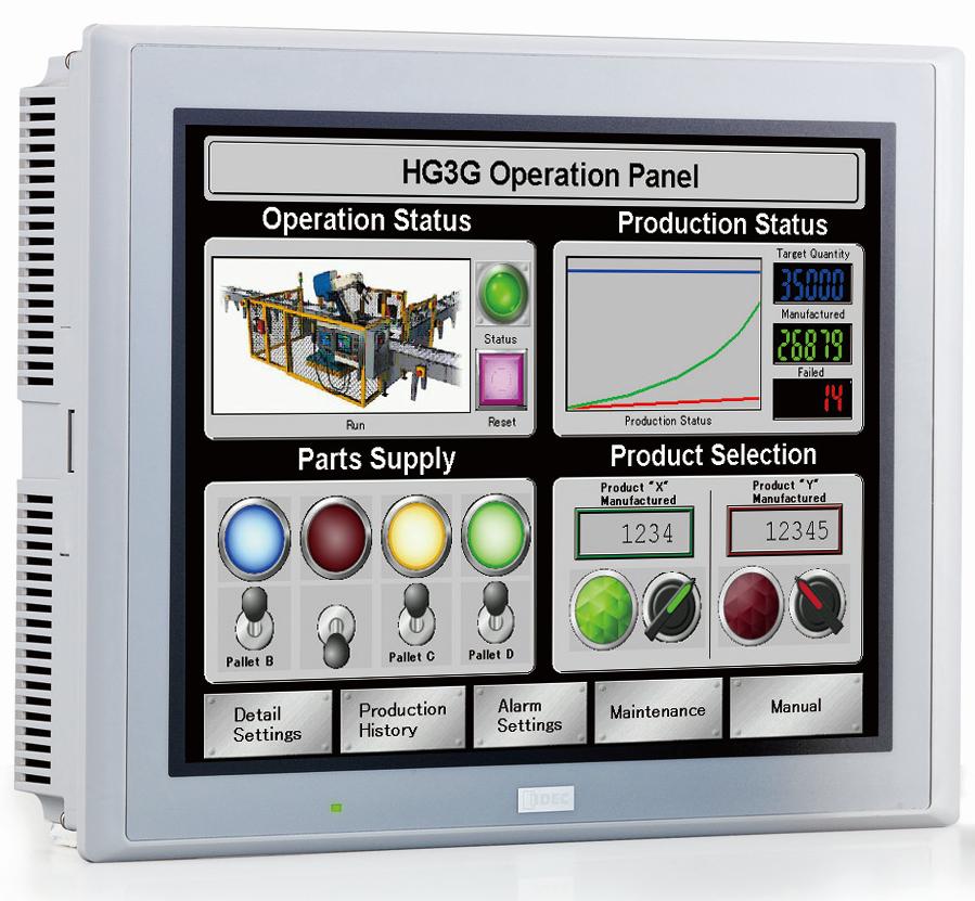 SADA: displej HG3G multimediální funkce, programovací kabel, software