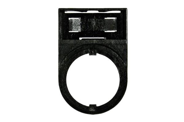 Zakulacený držák štítku HWAM