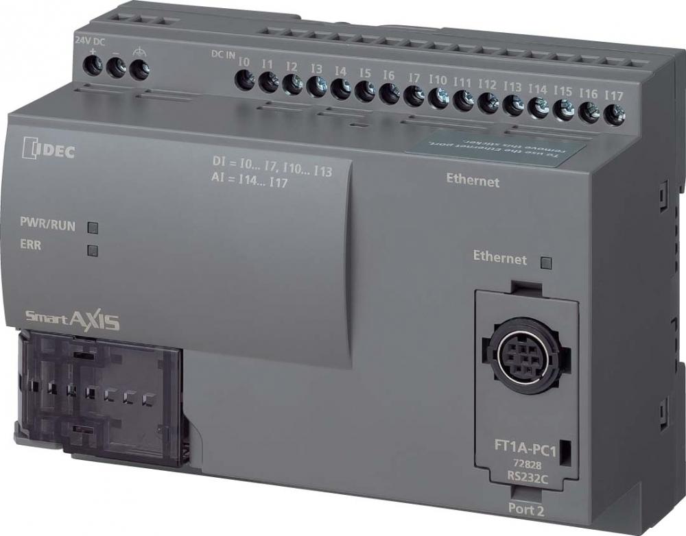 SmartAXIS Lite PLC s vestavěnou decentralizací