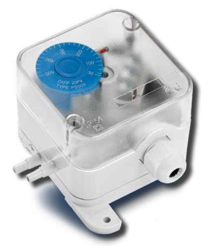 Diferenční tlakový spínač PS600