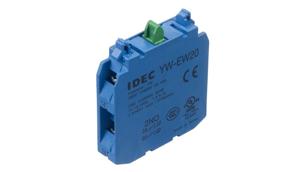 Kontaktní blok IDEC YW-EW20 YW-EW20