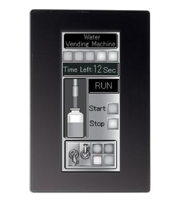 SmartAXIS Touch dotykový displej s PLC a Ethernetem, 2 AO, 4 PNP
