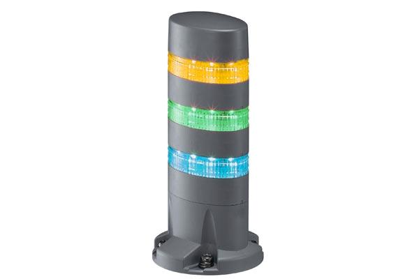 LED signální maják LD6A-3DQB-YGS LD6A-3DQB-YGS
