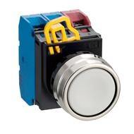 Kulaté tlačítko YW4B-M1E01W