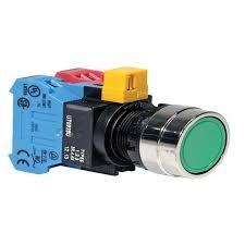 Kulaté tlačítko YW4B-M1E11G