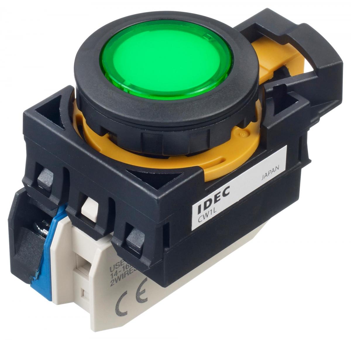 LED tlačítko CW1L-M1E10QM4G