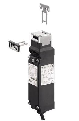 Bezpečnostní dveřní spínač HS5E, kovová hlava, kabel 5 m