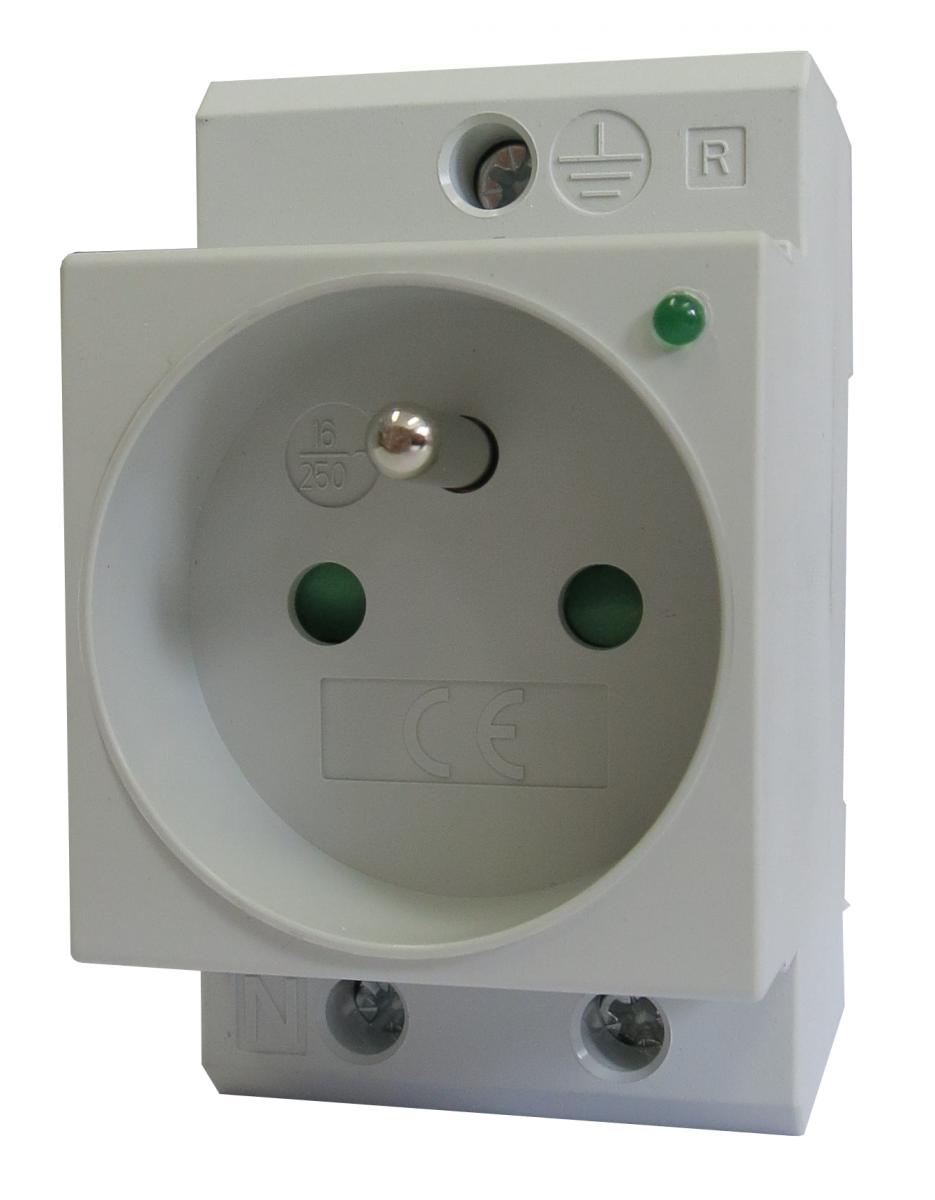 Zásuvka do rozvaděče SDS 70 CZ LED LPE-20