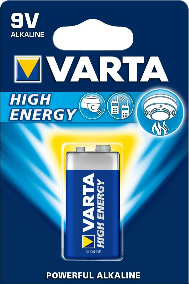 Baterie Varta 4922 high energy 9V