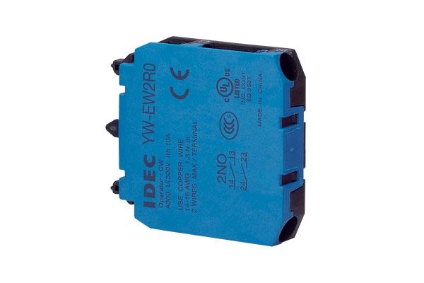 Kontaktní blok IDEC YW-EW2R0