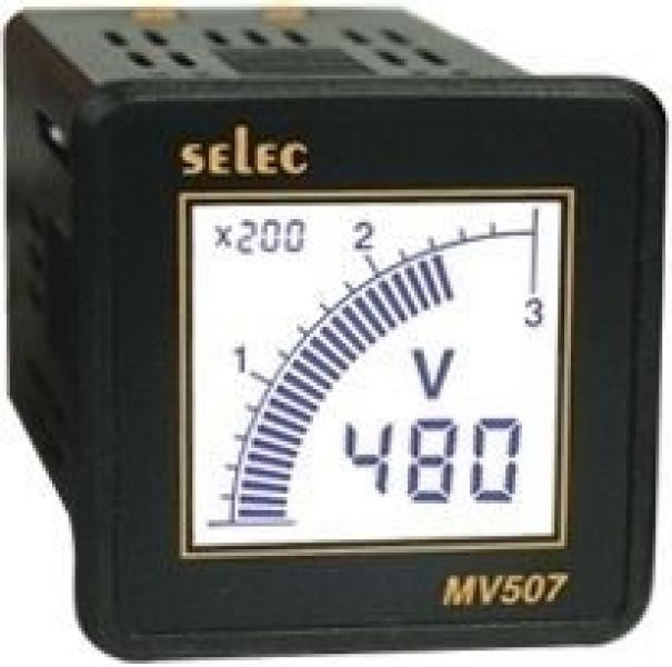 Selec Digitální voltmetr MV507-CU