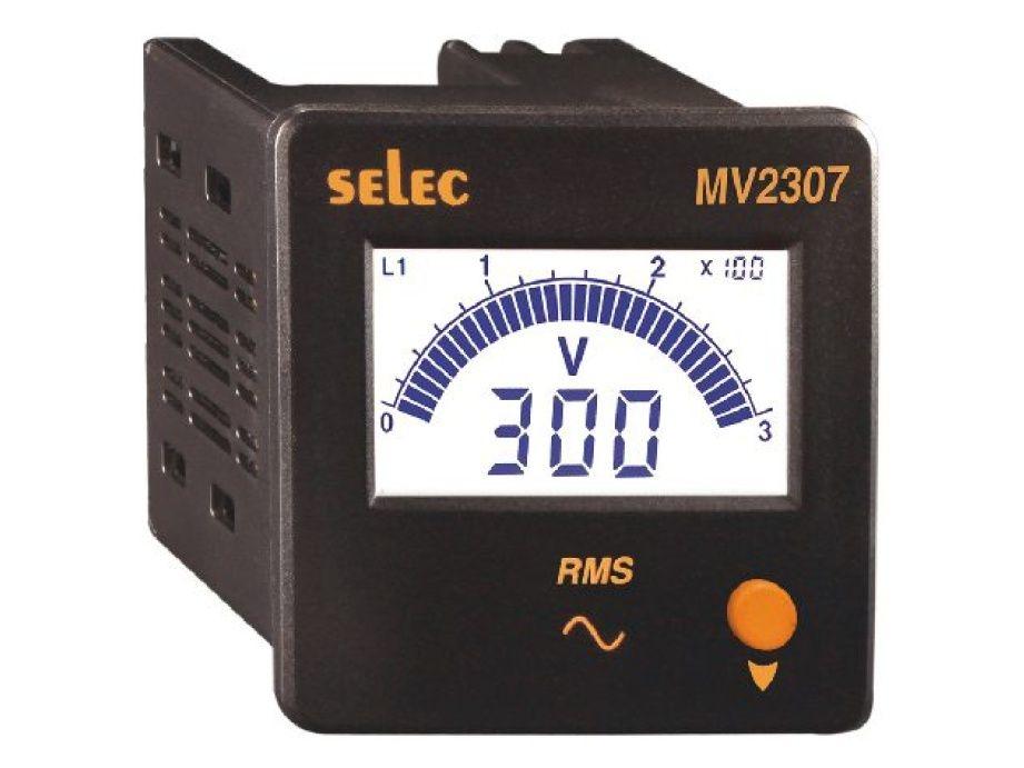 Selec Digitální voltmetr MV2307-CU