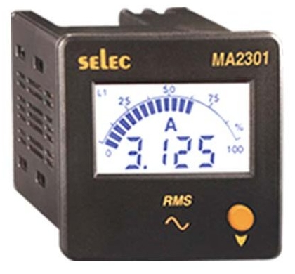 Selec Digitální ampérmetr MA2301-CU