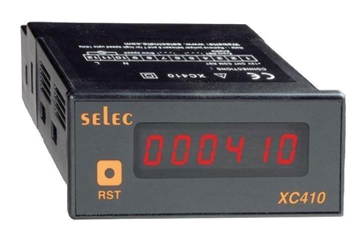 Selec Čítač pulsů XC410-CU
