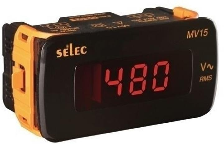 Selec Digitální voltmetr MV15-CU