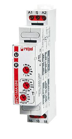 RELPOL Časové relé RPC-1MA-UNI