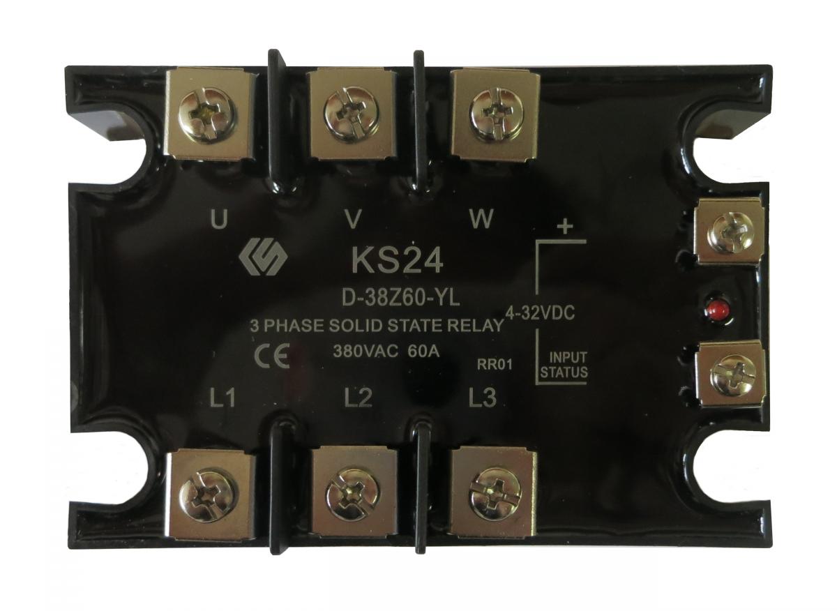 Třífázové polovodičové relé KS24/D-38Z25-YL