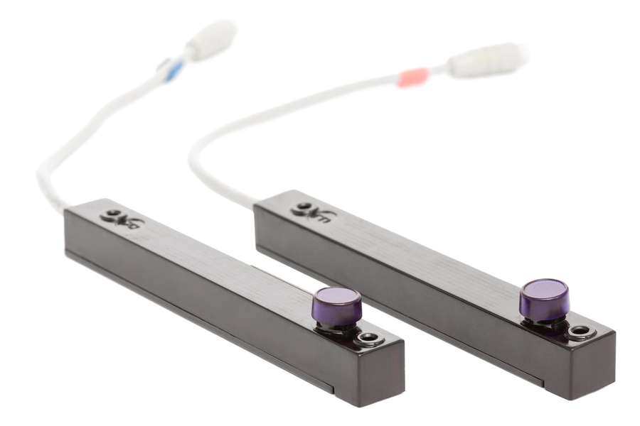 Světelná závora, kompaktní design ELS 400 SY, NPN, LO, 6m cable