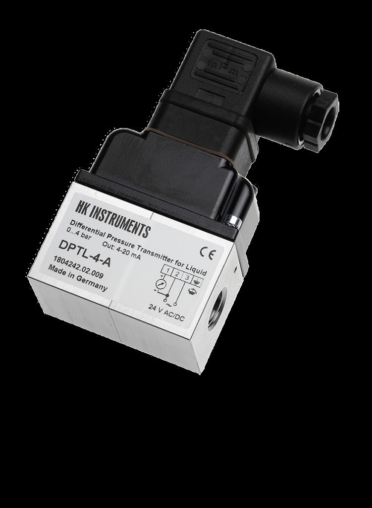 Diferenční tlakový snímač pro kapaliny DPTL-2,5-V