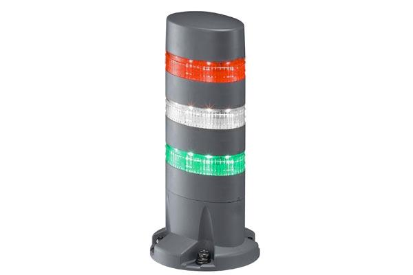 LED signální maják LD6A-3DQB-RWG LD6A-3DQB-RWG