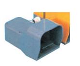 Nožní spínač s hliníkovým krytem EFT10GE-V0-M