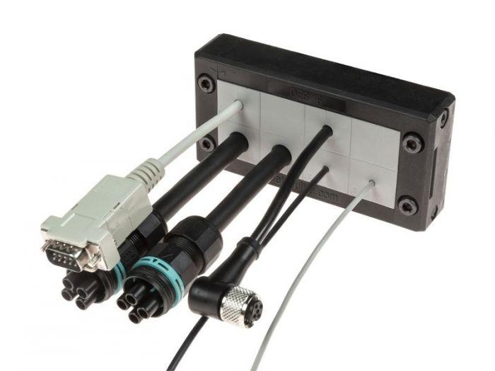 Rámová dělená kabelová průchodka DES 16