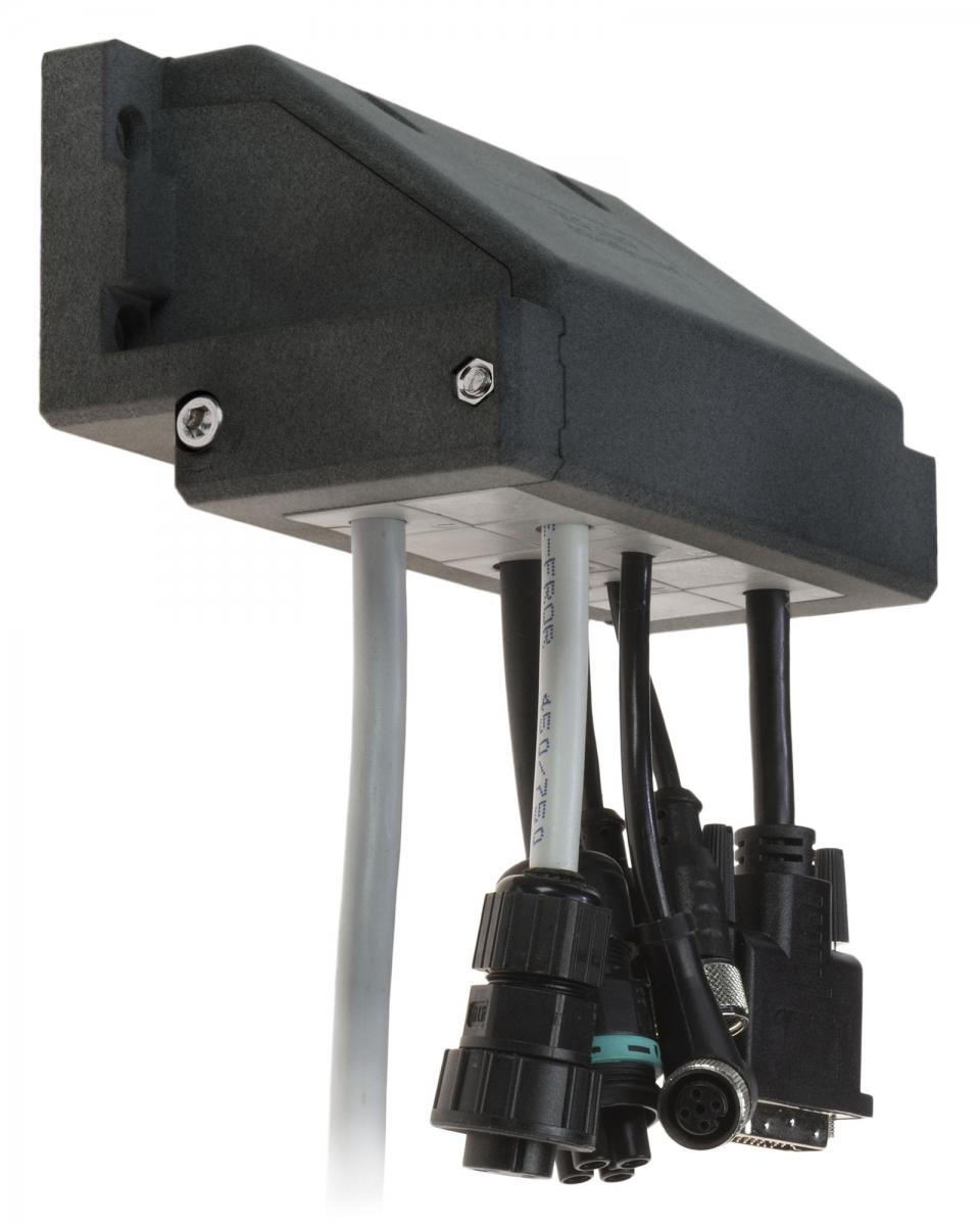 Rámová dělená kabelová průchodka DES 24-90