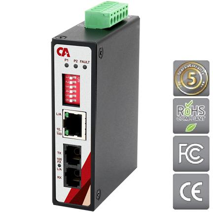 Průmyslový Ethernet switch METU-0201-S3