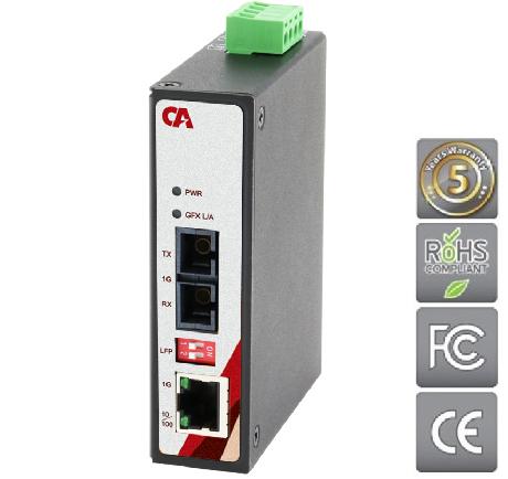 Průmyslový Ethernet switch MEGU-0201-S1