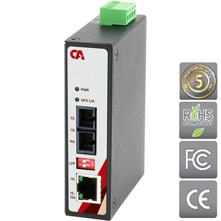 Průmyslový Ethernet switch MEGU-0201-ST