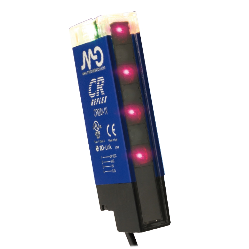 Reflexní polarizovaný optický senzor, výstup Push-Pull CR0/0T-1V