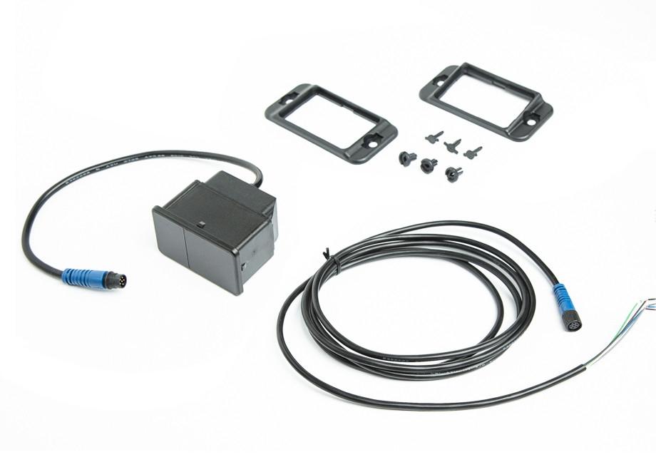 Optický infračervený 3D senzor pro montáž do rohu TOFniva-A-90-N-N-1PP, packed