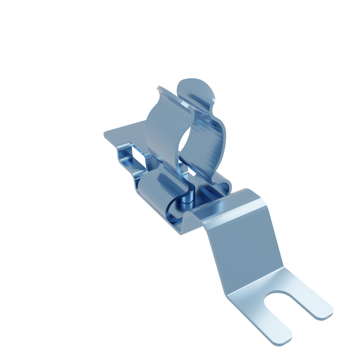Stínicí kabelová spona s vidlicí MSE 9-12
