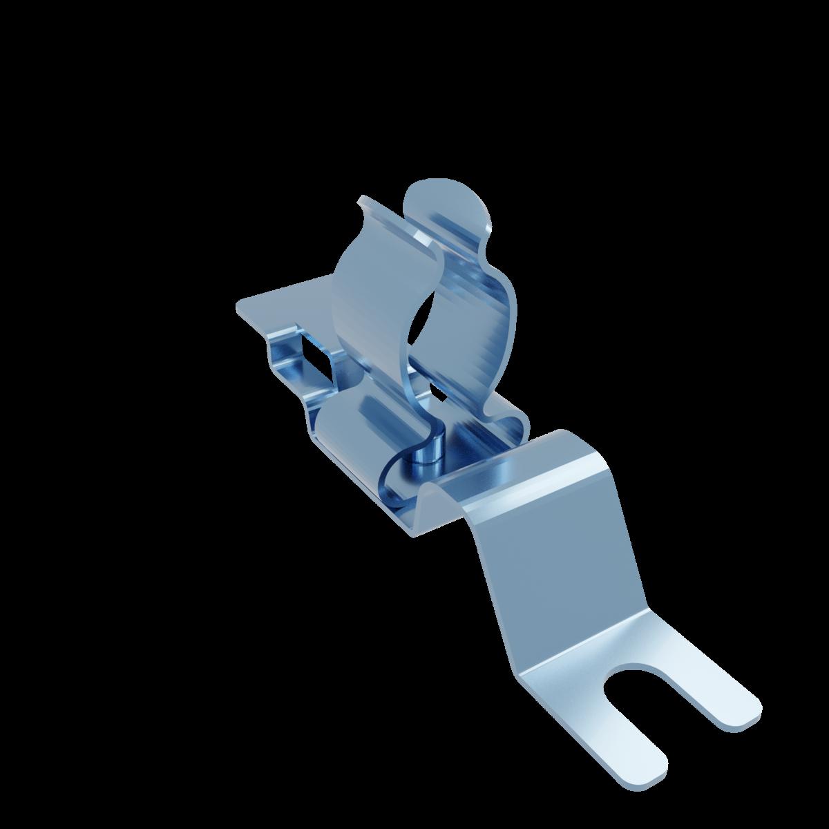 Stínicí kabelová spona s vidlicí MSEL 10-19