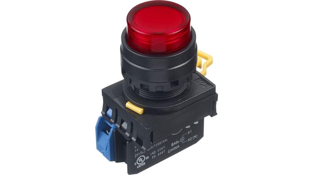 LED tlačítko YW1L-M2E10Q4R