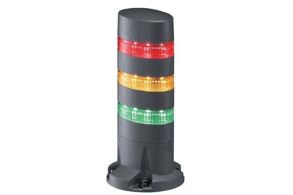 LED signální maják LD6A-3DQB-RYG LD6A-3DQB-RYG