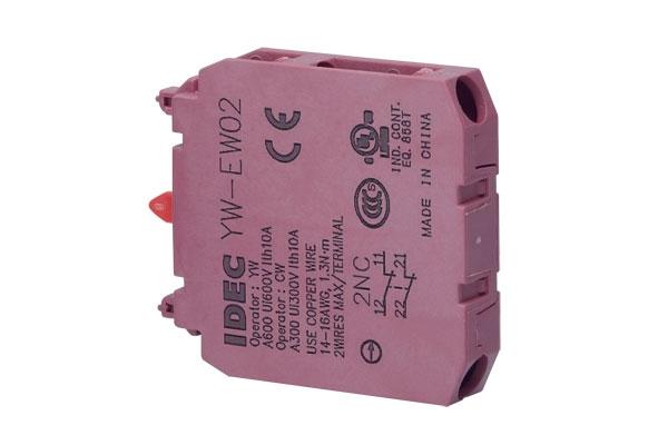 Kontaktní blok IDEC YW-EW02 YW-EW02