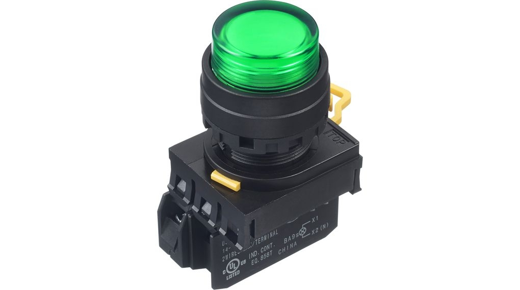 LED tlačítko YW1L-M2E10Q4G