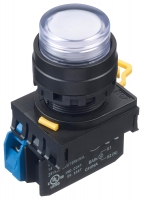 LED tlačítko YW1L-M2E10Q4PW