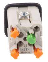 Čtvercový konektor CKSHM 03