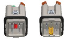 Čtvercový konektor CKSHF 03