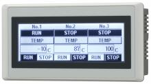 SADA: displej HG1F, RS485/RS422, programovací kabel, software