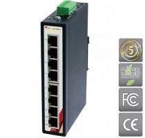 Průmyslový Ethernet switch 8 portový ETU-0800-T