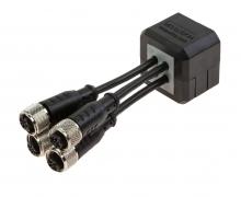 Dělená kabelová průchodka s pojistnou maticí DES CLICK 20 B