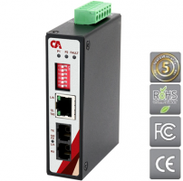 Průmyslový Media converter METU-0201-M