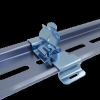 Stínicí kabelová spona na DIN lištu MSD2 11-17