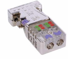 PROFIBUS konektor 972-0DP30