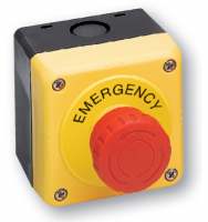 Nouzové tlačítko YW1B-V4E01R+box